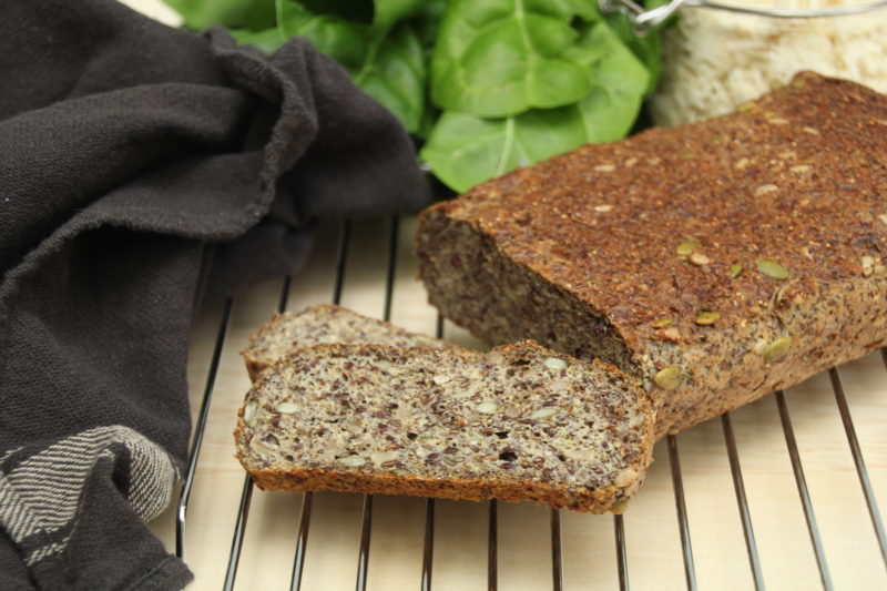 Grain Free Pumpernickel Bread