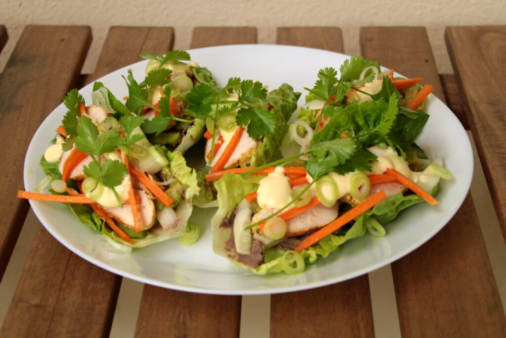 Banh Mi Lettuce Cups (Paleo, Whole30, Low Carb)