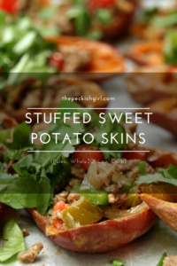 Stuffed Sweet Potato Skins (Paleo, Whole30, Low Carb)